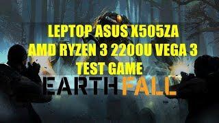AMD Ryzen 3 2200U Vega 3 - Earthfall - ASUS X505ZA