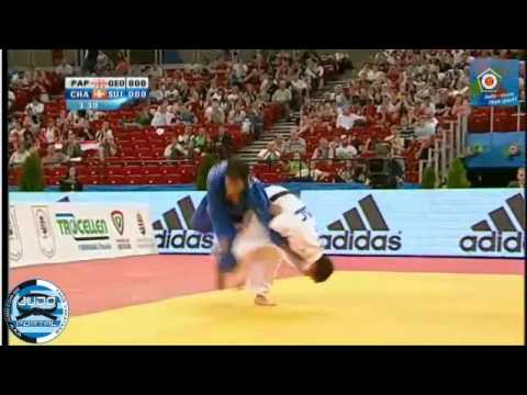 European Judo Championship Budapest 2013 Final -60kg PAPINASHVILI (GEO) - CHAMMARTIN, Ludovic (SUI) Image 1