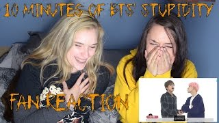 Download Lagu 10 Minutes of BTS' Stupidity (Fan Reaction) Gratis STAFABAND