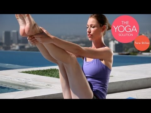Hardcore Core Yoga Routine | The Yoga Solution With Tara Stiles
