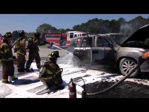 Car fire shuts down Long Island Expressway
