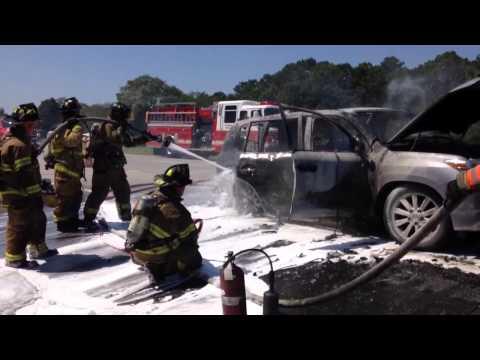 Car fire shuts down Long Island Expressway