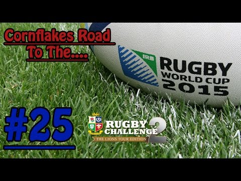 Rugby Challenge 2 - Cornflakes Road To The World Cup #25 - Samoa vs New Zealand