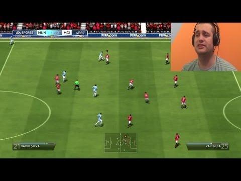 FIFA 14 Manchester United vs Manchester City [Srpski Gameplay] ☆ SerbianGamesBL ☆