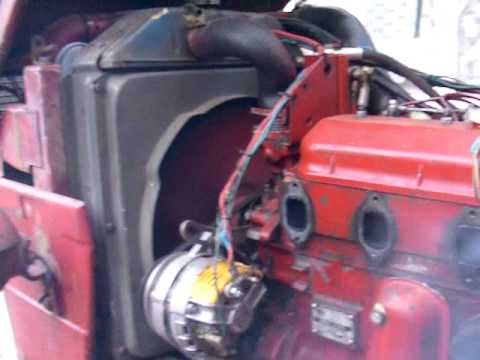 UTB Universal V 445 tractor one cylinder blue/white smoke