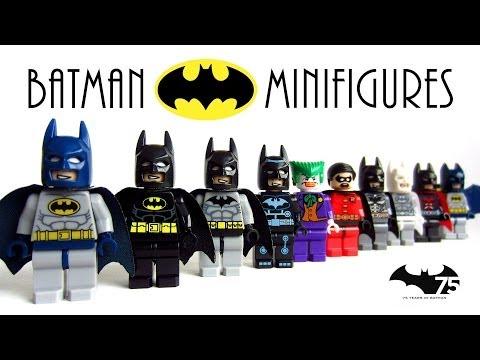 LEGO Batman The Dark Knight KnockOff Minifigures Collection (Bootleg)