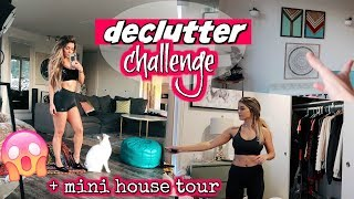 DECLUTTER & GET ORGANIZED CHALLENGE + MINI UPDATED HOUSE TOUR