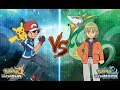 Pokemon Ultra Sun and Ultra Moon Ash Vs Trip (Kalos Vs Unova)