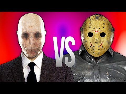 ДЖЕЙСОН ВУРХИЗ VS СЛЕНДЕРМЕН | СУПЕР РЭП БИТВА | Slenderman ПРОТИВ Jason Voorhees Friday the 13th