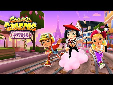 Subway Surfers World Tour 2018 - Paris (Valentine's Day)