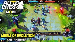 Arena of Evolution: Red Tides - Like AUTO CHESS Gameplay (Android/IOS)