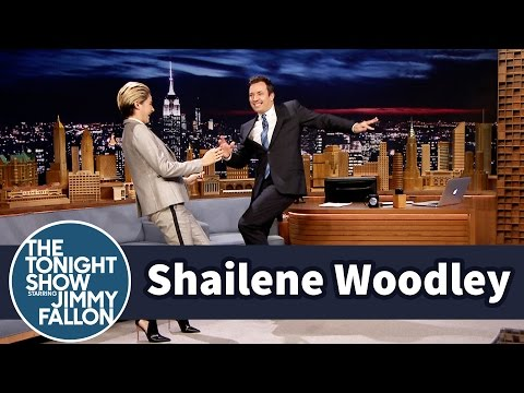 Shailene Woodley Teaches Jimmy Goth Dance Moves