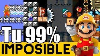 💀👻 Boo Quiere Jugar un Juego 👻💀 | 99% IMPOSIBLES de Suscriptores #19 | Super  Mario Maker - ZetaSSJ