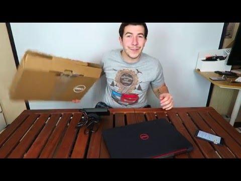 Распаковка ноутбука Dell inspiron 7559