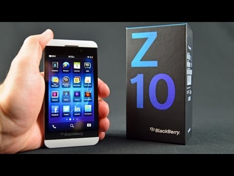 Blackberry Z10: Unboxing & Review