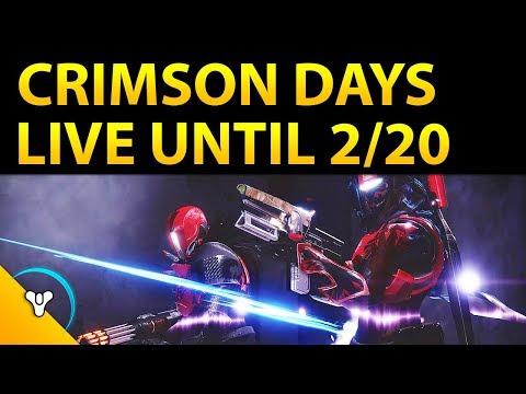 This Week in Destiny: Crimson Days