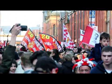 Manchester United 2013 Champions Parade