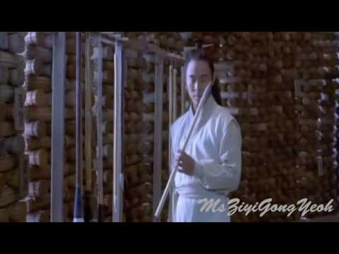 Hero - Library Fight Scene || Moon Vs. Jet Li || video