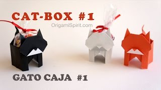 Halloween Cat and Candy Box #1 :: Gato Caja