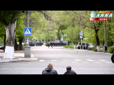Мариуполь Новый Фрагмент боя 9 мая Жесть, Стрельба , Базука , Бтп , Военные