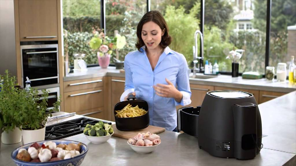 Philips Airfryer Xl With Rapid Air Technology Youtube