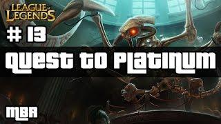 Jurassic Cho'Gath Vs Pantheon - Ranked #13 - League Of Legends - HD