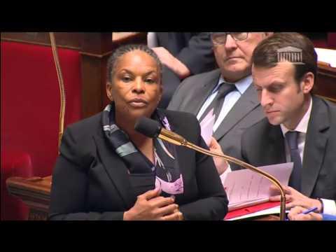 Echange Vif entre Georges Fenech et Christiane Taubira sur la libération des condamnés