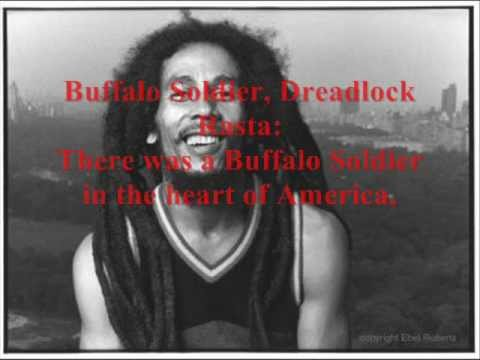 buffalo soldier Bob marley + la traduction (FR)
