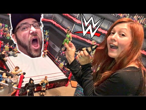 HEEL WIFE MAKES WWE FIGURE VIDEOS! FUNNIEST GTS TOY WRESTLING EVER!