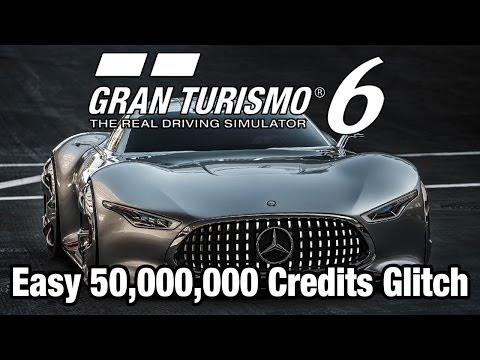 Gran Turismo 6 - Easy 50.000.000 Credits GLITCH