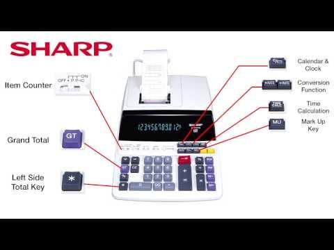 User manual sharp el-1197piii