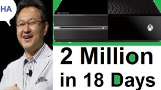Xbox One Sells Two Million in 18 Days.Who's Really Ahead, PS4 or Xbox One? The Truth Hurts