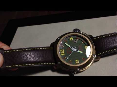 Anonimo - Marlin Bronze Green Dial