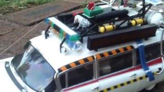 Ghostbusters Movie Car-Ecto1 Hot Wheels-Replica Die Cast