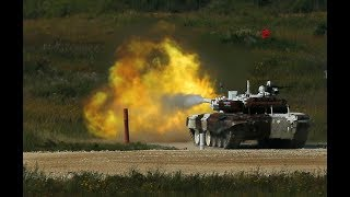 Guess Who Won Tank Biathlon at Russia's Colossal International Army Games?