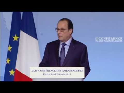 Hollande slams Russia: French President condemns Kremlin over invasion of Ukraine