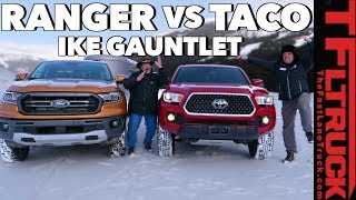 Best Midsize Towing Truck? Ford Ranger vs Toyota Tacoma vs World's Toughest Towing Test