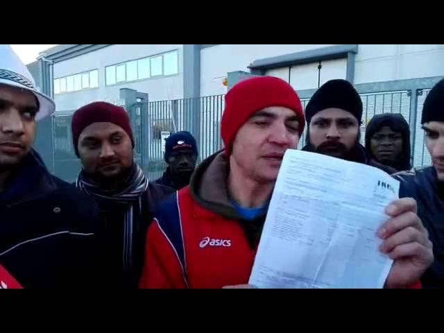 [BRESCIA] operai della coop. uniqa in sciopero alla Motive srl