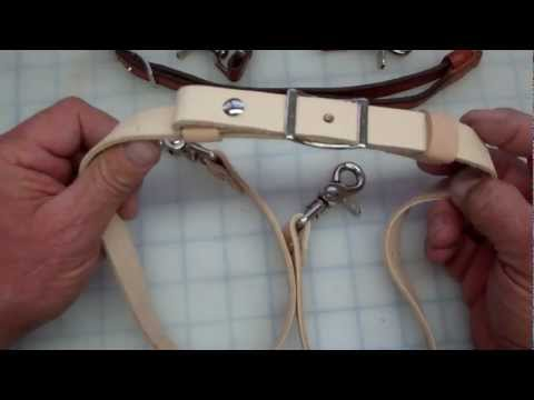 Making A Leather Adjustable Strap For Handbags Using A Conway Buckle