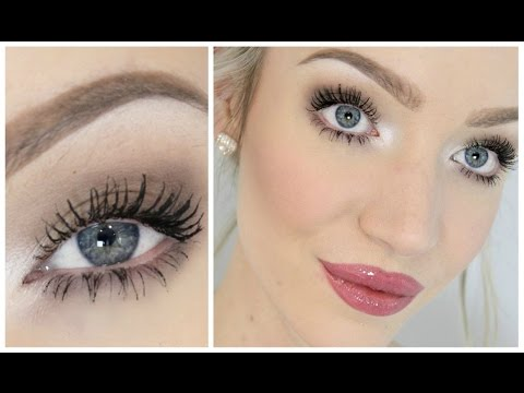 'everyday' makeup tutorial easy but pretty  youtube