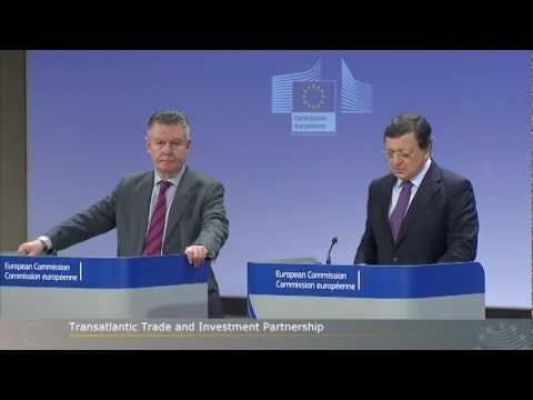 European Union and United States will launch negotiations for transatlantic free trade agreement