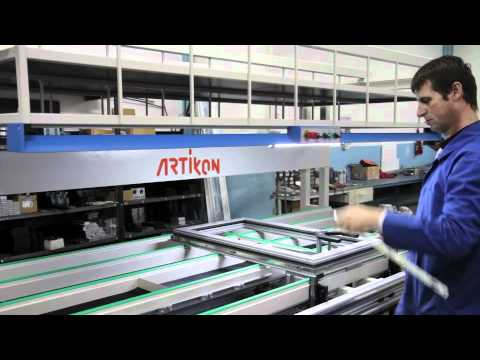 Ws 133 Sash Assembly Workstation For Aluminium Windows