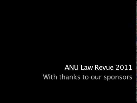 Sexy Law Tutor - ANU Law Revue 2011