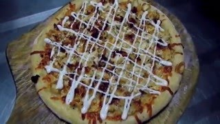 How to Make Chicken Bacon Ranch Pizza by Pizza Freaks