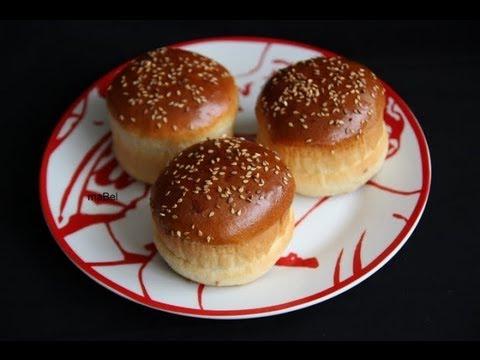 Pan hamburguesa casero