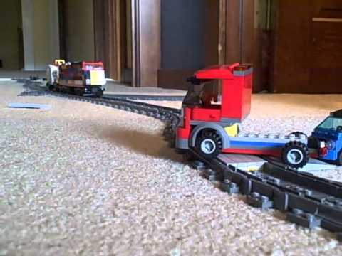 lego train crash compilation