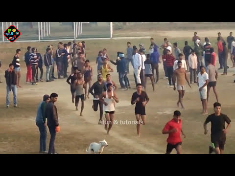 Indian Army Rally Bharti 1600 मीटर की दौड़ Firozabad thumbnail
