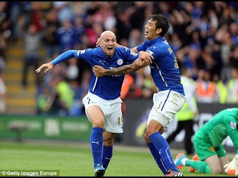 Premier League : Leicester 5-3 Manchester United