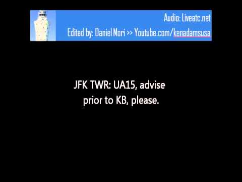JFK Air Traffic Control and United 15 Deal with a Blizzard