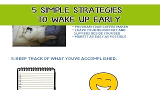 How To Wake Up To An Alarm
